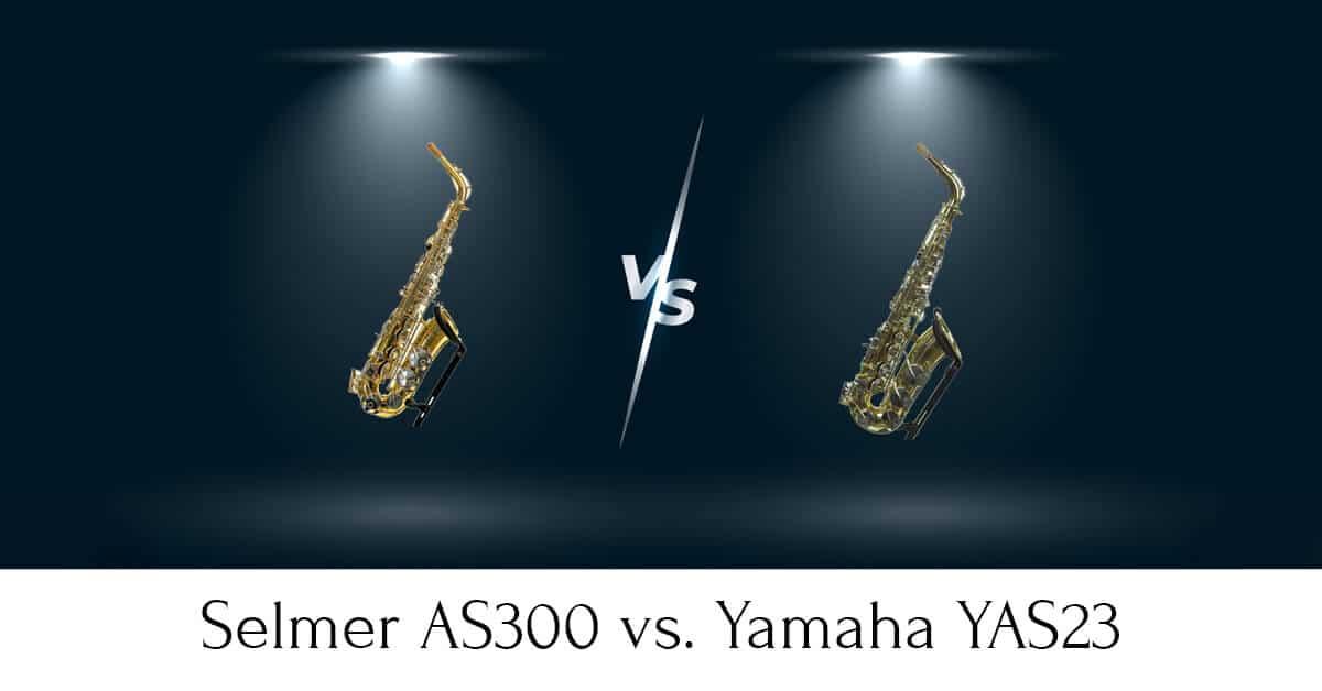 Selmer AS300 vs. Yamaha YAS23