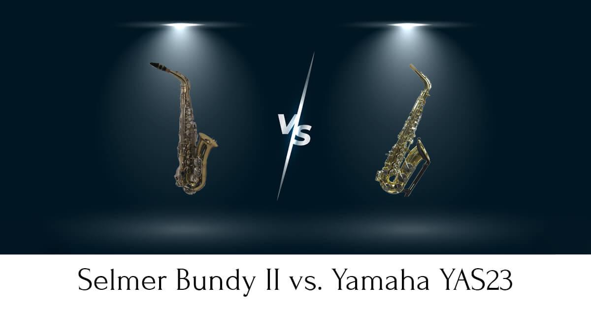 Selmer Bundy II vs. Yamaha YAS23